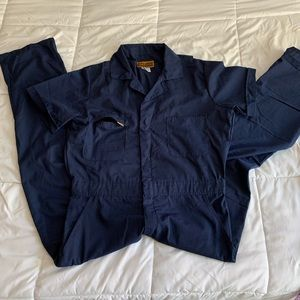Navy Blue Boiler Suit/Jumpsuit